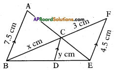 AP 10th Class Maths Important Questions Chapter 8 Similar Triangles Important Questions 23