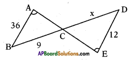 AP 10th Class Maths Important Questions Chapter 8 Similar Triangles Important Questions 3