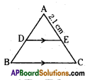 AP 10th Class Maths Important Questions Chapter 8 Similar Triangles Important Questions 4