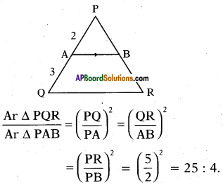 AP 10th Class Maths Important Questions Chapter 8 Similar Triangles Important Questions 6