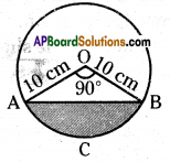 AP 10th Class Maths Important Questions Chapter 9 Tangents and Secants to a Circle 10