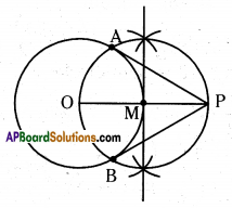 AP 10th Class Maths Important Questions Chapter 9 Tangents and Secants to a Circle 12