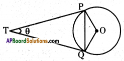 AP 10th Class Maths Important Questions Chapter 9 Tangents and Secants to a Circle 15