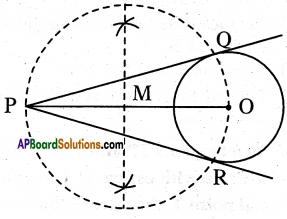 AP 10th Class Maths Important Questions Chapter 9 Tangents and Secants to a Circle 17