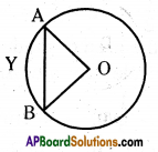 AP 10th Class Maths Important Questions Chapter 9 Tangents and Secants to a Circle 18