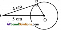 AP 10th Class Maths Important Questions Chapter 9 Tangents and Secants to a Circle 3