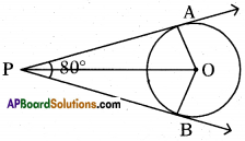 AP 10th Class Maths Important Questions Chapter 9 Tangents and Secants to a Circle 7