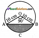 AP 10th Class Maths Important Questions Chapter 9 Tangents and Secants to a Circle 9