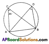 AP 9th Class Maths Bits Chapter 12 Circles with Answers 8