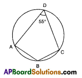 AP 9th Class Maths Bits Chapter 12 Circles with Answers 9