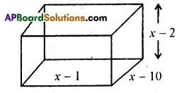 AP 9th Class Maths Bits Chapter 2 Polynomials and Factorisation with Answers 2