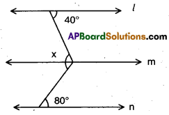 AP 9th Class Maths Bits Chapter 4 Lines and Angles 11