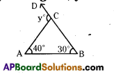 AP 9th Class Maths Bits Chapter 4 Lines and Angles 23