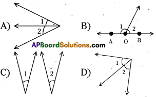 AP 9th Class Maths Bits Chapter 4 Lines and Angles 36