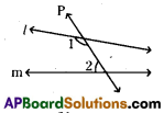 AP 9th Class Maths Bits Chapter 4 Lines and Angles 38