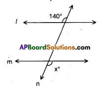 AP 9th Class Maths Bits Chapter 4 Lines and Angles 4