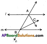 AP 9th Class Maths Bits Chapter 4 Lines and Angles 6
