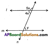 AP 9th Class Maths Bits Chapter 4 Lines and Angles 8