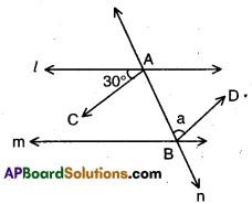 AP 9th Class Maths Bits Chapter 4 Lines and Angles 9