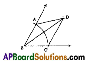 AP 9th Class Maths Important Questions Chapter 13 Geometrical Constructions 3